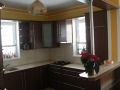 Meble kuchenne ciemny brąz - Rumia